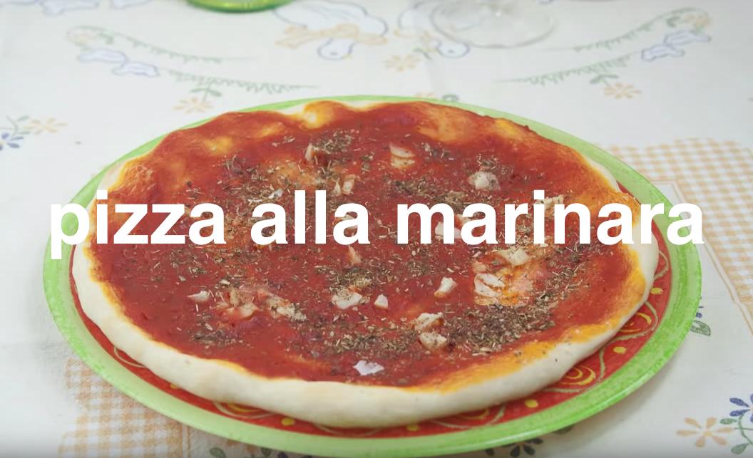 Ricetta della pizza alla marinara