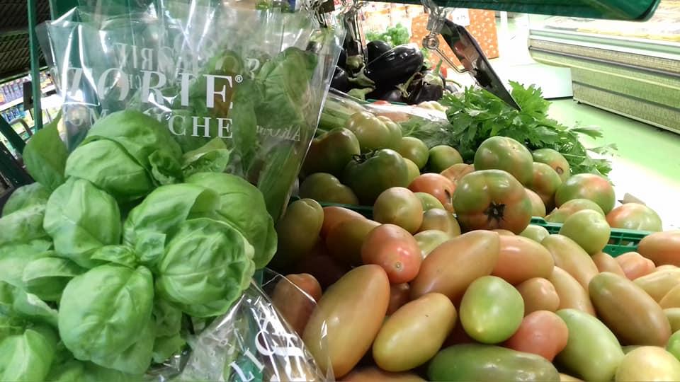 Basilico e pomodori, accoppiata vincente!
