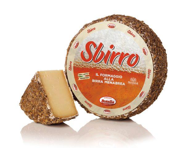 Sbirro formaggio piemontese