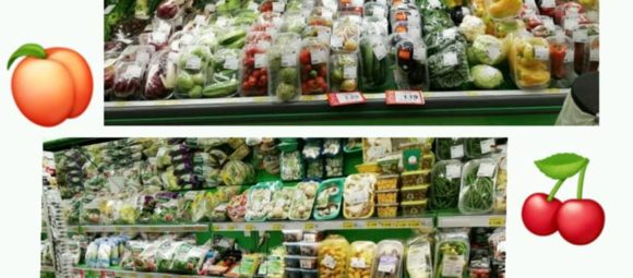 assortimento frutta e verdura