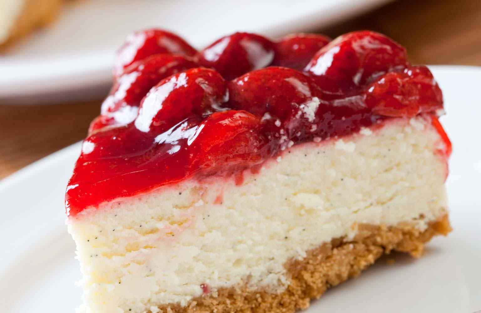Cheesecake al mascarpone e marmellata