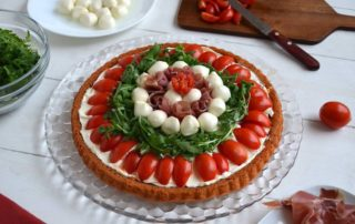 crostata salata a base morbida dok