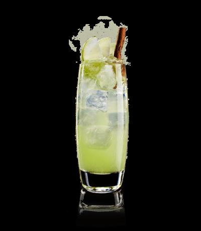 vodka pesca lemon