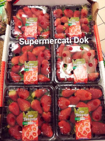 fragole supermercati dok