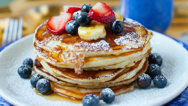 Fluffy-Pancakes